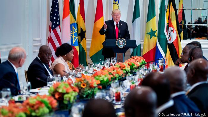Africa World Newspaper Donald Trump